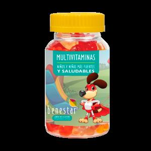Gomitas Mulvitaminas BENESTAR 60 gomitas masticables