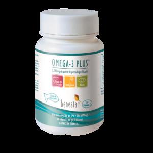Omega-3 Plus Aceite Pescado Purificado BENESTAR 60 caps