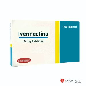 Ivermectina Caplin Point  Tableta 6mg Caja con 100 tabletas